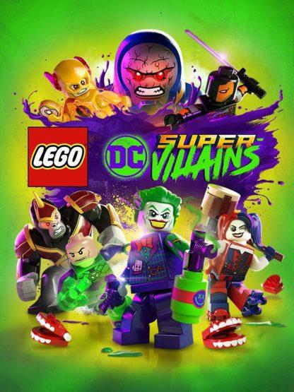 lego dc super villains cover original