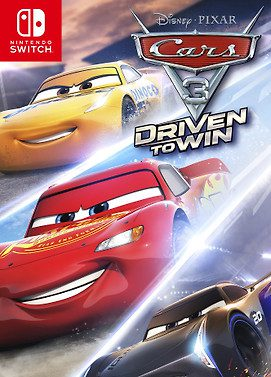 cars 3 driven to win switch cover