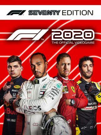 f1 2020 seventy edition cover original