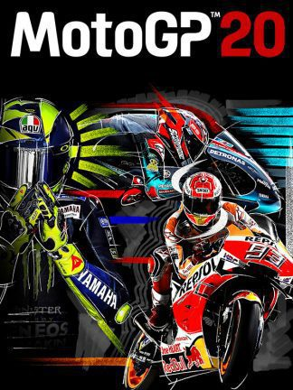 motogp 20 cover original