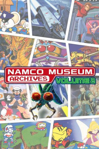 namco museum archives volume 2 cover original