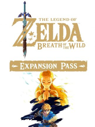 the legend of zelda breath of the wild expansion pass cover original