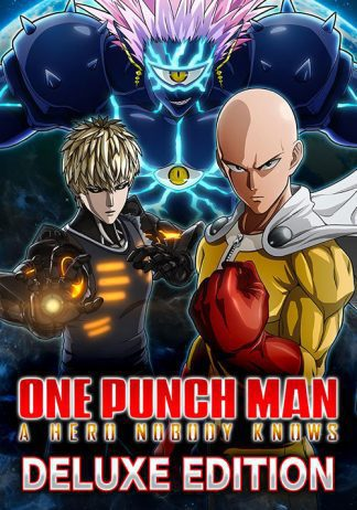 ONE PUNCH MAN A HERO NOBODY KNOWS Deluxe Edition cover