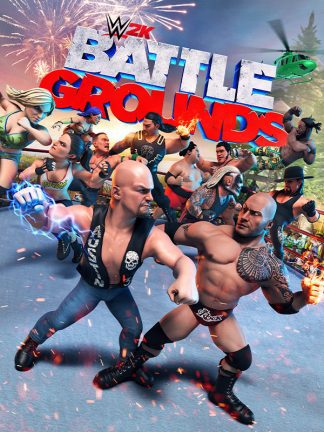 wwe 2k battlegrounds cover original