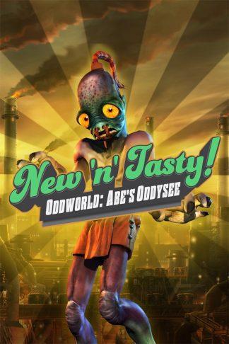 oddworld new n tasty cover