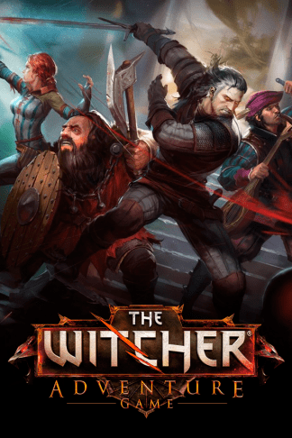 witcher adventure game cover