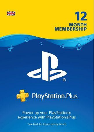 ps plus 12 month